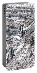 Bridal Veil Falls Canvas Print,photographic Print,art Print,framed Print,greeting Card,iphone Case,s Portable Battery Charger