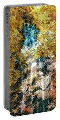 Bridal Veil Falls In Yellow Portable Battery Charger