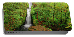 Portable Battery Charger featuring the photograph Bridal Veil Falls by Jonathan Davison