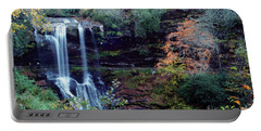 Bridal Veil Waterfalls Portable Battery Charger by Debra Crank