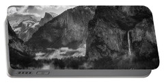 Bridalvail Falls And Half Dome Portable Battery Charger