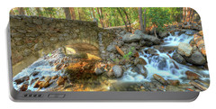 Bridalveil Creek At Yosemite By Michael Tidwell Portable Battery Charger