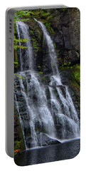 Portable Battery Charger featuring the photograph Bridesmaid's Falls by Raymond Salani III