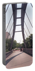 Bridge And Alexanderplatz Tower Portable Battery Charger