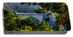 Bridge At Deception Pass Portable Battery Charger