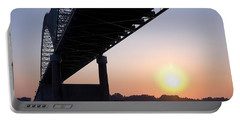 Bridge Over Mississippi River Portable Battery Charger