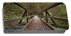 Portable Battery Charger featuring the photograph Bridge by Davor Zerjav