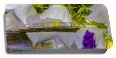 Bridge Flower.  Portable Battery Charger