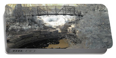 Bridge In Shades Of Infrared Portable Battery Charger