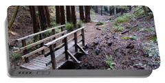 Bridge In The Redwoods Portable Battery Charger