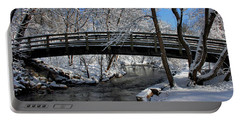 Bridge In Winter Portable Battery Charger