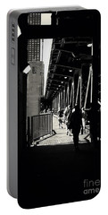Bridge - Lower Lake Shore Drive At Navy Pier Chicago. Portable Battery Charger
