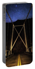 Portable Battery Charger featuring the photograph Bridge Of Stars by Cat Connor