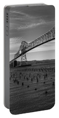 Bridge Over Columbia Portable Battery Charger by Jeff Kolker