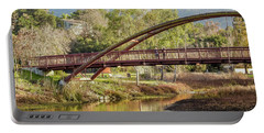 Bridge Over The Creek Portable Battery Charger