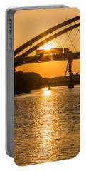 Bridge Sunrise 2 Portable Battery Charger by Patti Deters