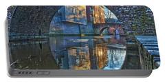 Bridges Across Binnendieze In Den Bosch Portable Battery Charger by Frans Blok