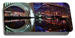 Portable Battery Charger featuring the photograph Bridges by Frozen in Time Fine Art Photography