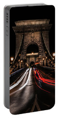 Portable Battery Charger featuring the photograph Bridges Of Budapest - Chain Bridge by Jaroslaw Blaminsky