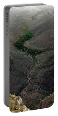 Bright Angel Trail From The South Rim, Grand  Canyon Portable Battery Charger