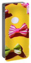 Bright Bow Tie Gallery Portable Battery Charger