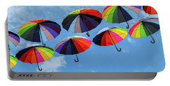 Bright Colorful Umbrellas  Portable Battery Charger