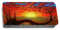 Bright Sunset Portable Battery Charger