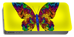 Portable Battery Charger featuring the digital art Bright Transformation by Barbara Tristan