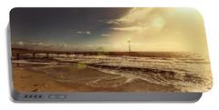 Portable Battery Charger featuring the photograph Brighton Beach Pier by Douglas Barnard
