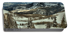 Brighton Mountain Landscape Portable Battery Charger