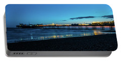 Brighton Pier At Sunset Ix Portable Battery Charger