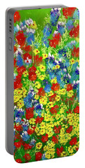 Brilliant Florals Portable Battery Charger