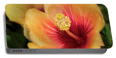 Brilliant Hibiscus Portable Battery Charger
