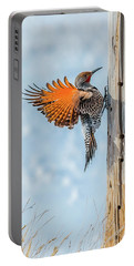 Brilliant Northern Flicker Woodpecker Portable Battery Charger