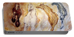 Bringers Of The Dawn Section Of Mural Portable Battery Charger