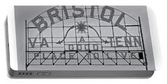 Bristol Slogan Sign Va Tn Portable Battery Charger
