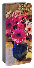Brithday Wish Bouquet Portable Battery Charger