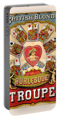 British Blonde Burlesque Troupe Portable Battery Charger