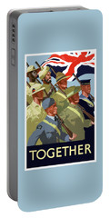 British Empire Soldiers Together Portable Battery Charger