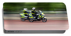 British Police Motorcycle Portable Battery Charger