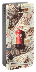 Portable Battery Charger featuring the photograph British Post Box by Jorgo Photography - Wall Art Gallery