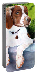 Brittany Spaniel Portable Battery Charger