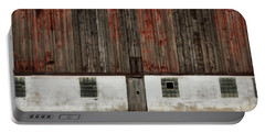 Portable Battery Charger featuring the photograph Broad Side Of A Barn by Julie Hamilton