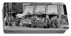 Broad St. Lunch Carts New York Portable Battery Charger