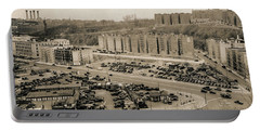 Broadway And Nagle Ave 1936 Portable Battery Charger