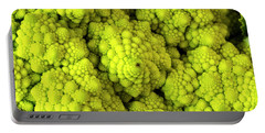 Broccoli Romanesco Close Up Portable Battery Charger