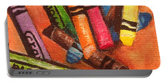 Broken Crayons Portable Battery Charger