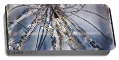 Portable Battery Charger featuring the photograph Broken Dreams by Suzanne Stout