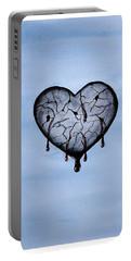 Broken Heart Portable Battery Charger