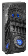 Bromo Seltzer Tower Baltimore - Blue  Portable Battery Charger